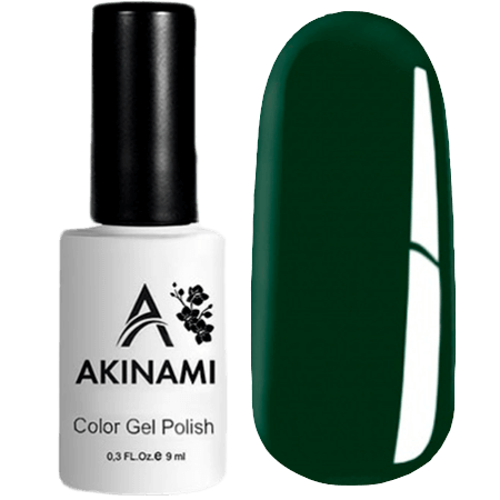 Гель-лак Akinami Color Gel Polish- тон №102 Dark Green