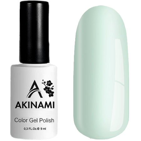 Гель-лак Akinami Color Gel Polish- тон №154 White Green