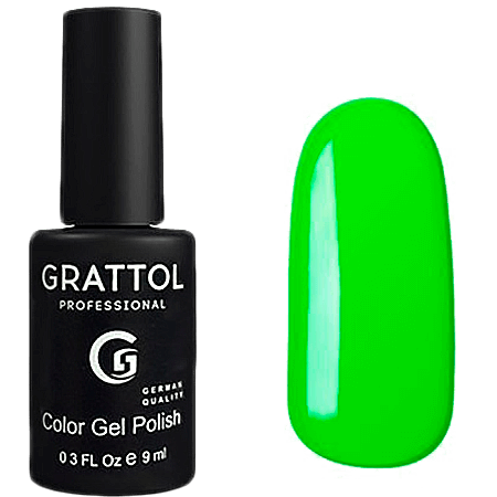 Гель-лак Grattol Color Gel Polish- тон №37 Lime