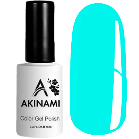 Гель-лак Akinami Color Gel Polish- тон №135 Cerulean