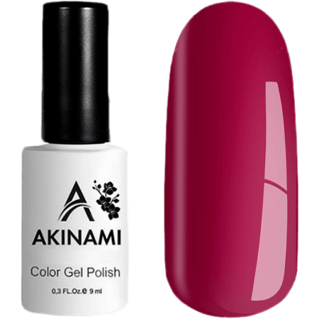 Гель-лак Akinami Color Gel Polish- тон №136 Crimson